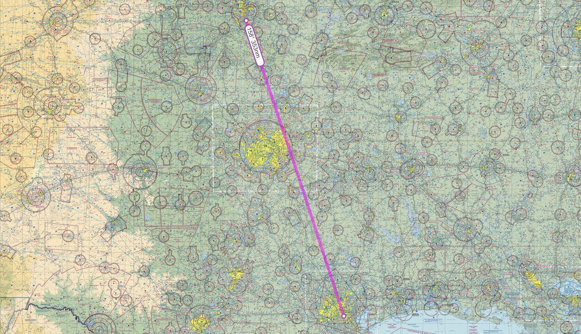 flight plan path 4252g