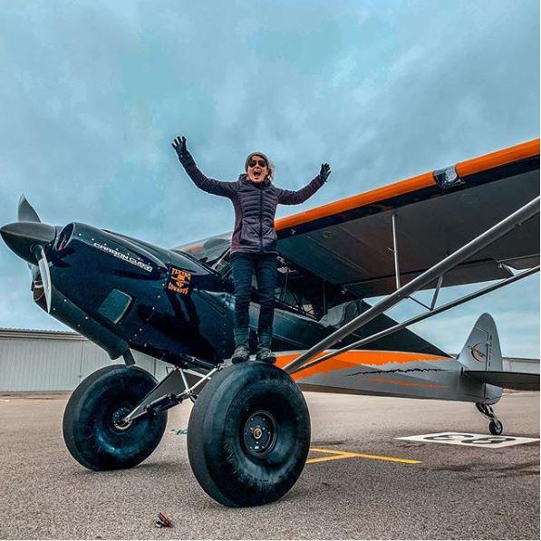 carbon cub aircraft