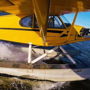 piper cub on floats