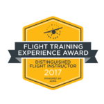 flight training experience award 2017