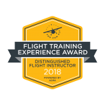 flight training experience award 2018