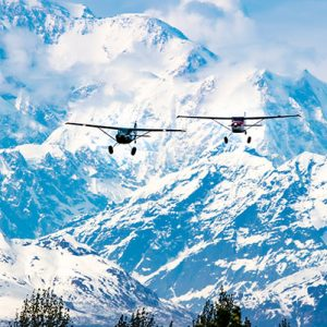 how to fly in Alaska